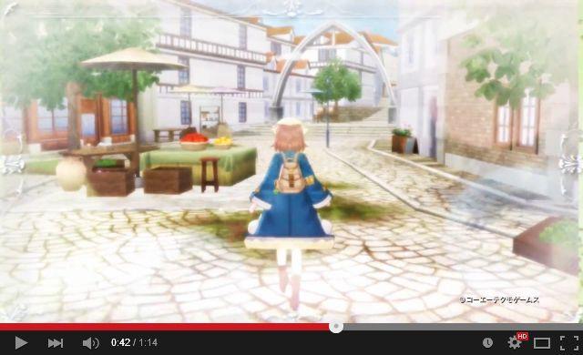ソフィーのアトリエ ティザームービー Full Ver. 01