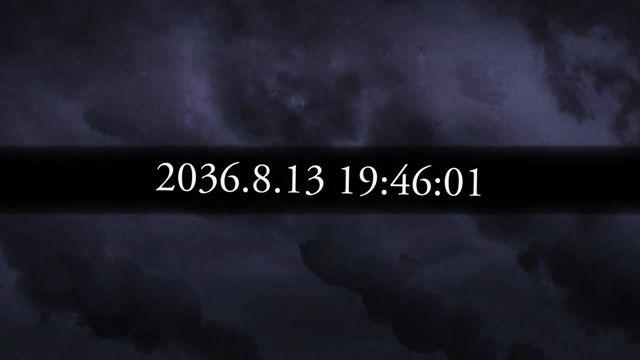 過去へと飛ぶ鈴羽と椎名かがり 01