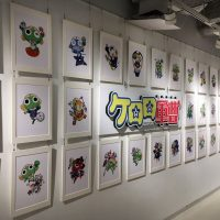ケロロ軍曹生誕20周年記念展が大阪で開催中