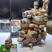 【アニメグッズ】ペーパークラフト:ハウルの動く城 ペーパークラフトBOOK レビュー
